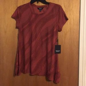 Simply Vera size XS burgundy in color